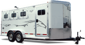 Bumper Pull trailers for sale at All American Trailers