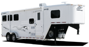 Gooseneck trailers for sale at All American Trailers