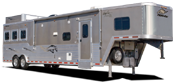 Living quarters trailers for sale at All American Trailers